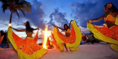 Taniec Sega, tropical sun