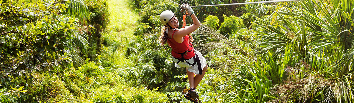 Canopy Adventure Zip Line - Dominikana