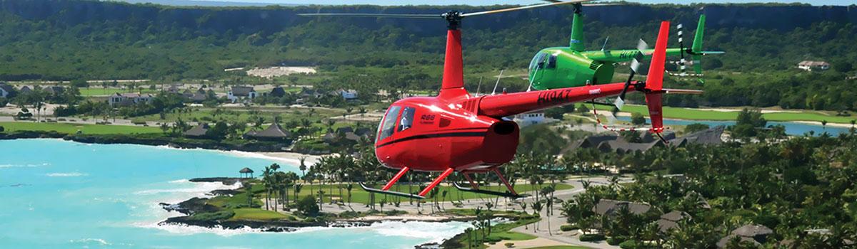 Helikoper - loty widokowe - Dominikana