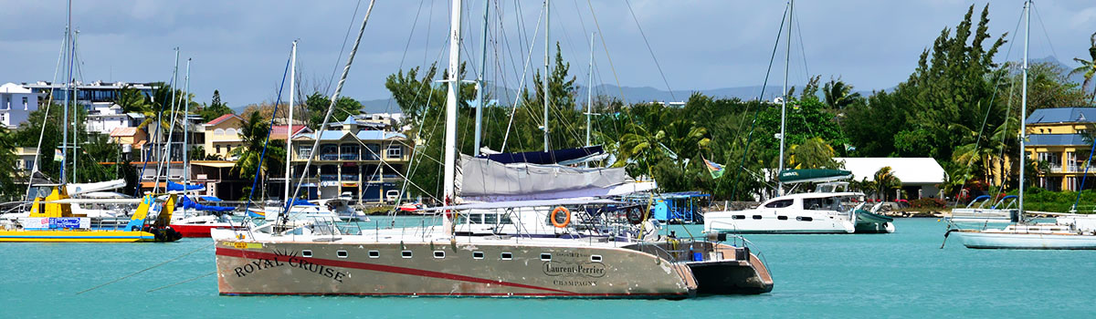 Katamaran - wyspa Gabriela - Mauritius