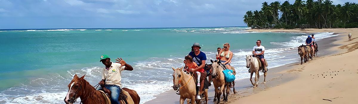 Huśtawki na Górze Czarownic i magiczna plaża Limon - Dominikana