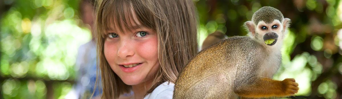 Małpi Raj - Dominikana