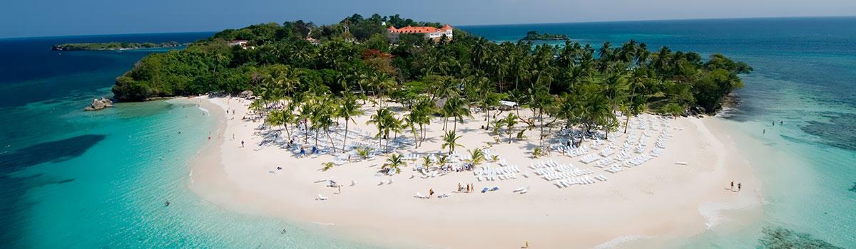 Samana, Park Los Haitises, Wodospad El Limon, wyspa Bacardi - Dominikana