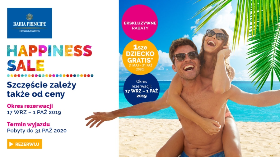 Tropical Sun Tours - HAPPINESS SALE 2019