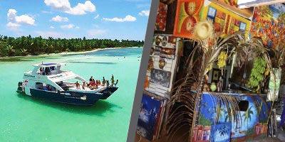 Dominikana - wycieczka DWUPAK PREMIUM Saona Luxury VIP i Vida Dominicana