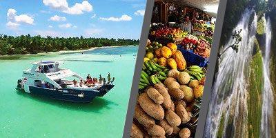Dominikana - wycieczka TRÓJPAK PREMIUM Saona Luxury, Vida Dominicana, Samana
