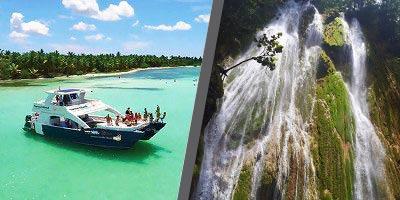 Dominikana - wycieczka DWUPAK PREMIUM Saona Luxury VIP i Samana