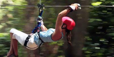 dominikana - wycieczka Canopy Adventure Zip Line