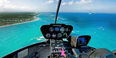 dominikana - wycieczka Helikopterem Salto de La Janda