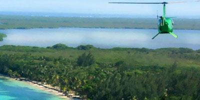 dominikana - wycieczka Saona helikopterem