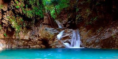 dominikana - wycieczka Wodospady Damajagua