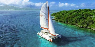 mauritius - wycieczka Katamaran - wybrzeże połud.-wsch.