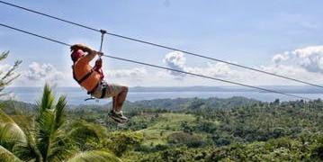 Dominikana - wycieczka Zip Line z płw. Samana