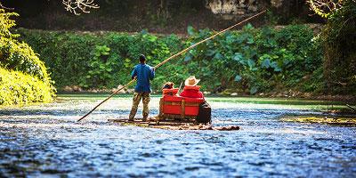 jamajka - wycieczka Czarna rzeka i przyroda Jamajki