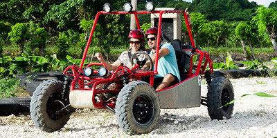 dominikana - wycieczka Buggy Adventure