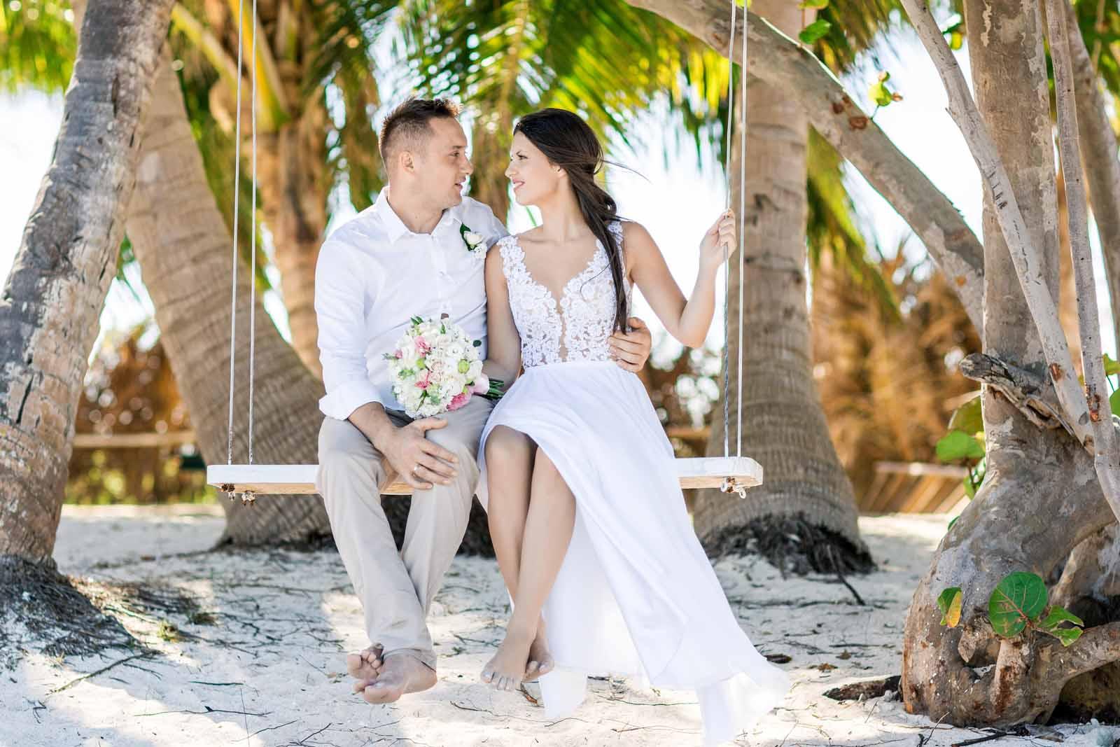 Dominikana ślub Na Plaży Zdjęcia