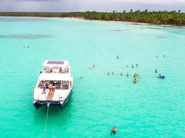 Saona LUXURY VIP All Inclusive +, Saona, plaża, katamaran, Tropical Sun